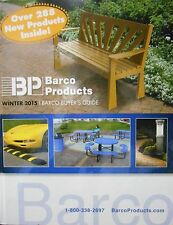 BP Barco Products Winter 2015 catalogue new hardcover book