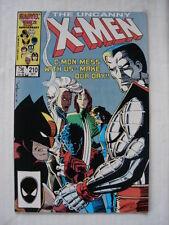 X-MEN UNCANNY #210 MARVEL COMIC MUTANT MASSACRE X-OVER OCTOBER 1986