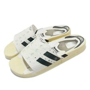 adidas Originals Adilette Superstar Fake Print Off White Men Sandal Slide FW6093