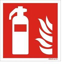 Feuerlöscher Symbol Schild Brandschutzzeichen 15 x 15 Folie selbstklebend