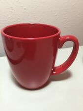 3 Corelle Spring Pink Solid Red Coffee Mug