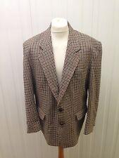 """Hombre Vintage de Tweed - 42"""" pecho-Lana & cachemira-Excelente Estado"""