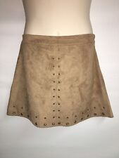 Express Skirt Womens Size 12 Camel Length 17.5 inches NWT $69