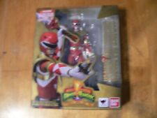 BANDAI S.H. FIGUARTS MIGHTY MOPHIN POWER RANGERS ARMORED RED RANGER IN BOX