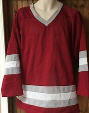 Kobe Made in Canada Washington State Colors Men's Xl Off Center 8 Hockey Jersey