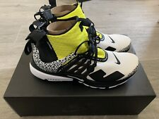 Nike AIR PRESTO MID X ACRONYM White/ black Dynamic Yellow EU: 47,5 US: 13 UK: 12