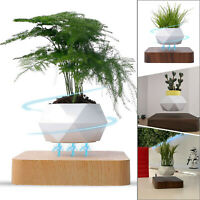 Levitating Plant Pots Air Floating Spinning Magnetic Suspension Air Plant Pot UK