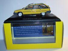 UH UNIVERSAL HOBBIES CITROEN BX BREAK 16 RS 1986 POSTES POSTE PTT 1/43 LUXE BOX