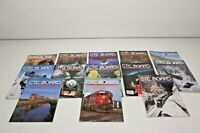 Lot of 13 CTC Board Railroads Illustrated Train Magazine 90's 2000's