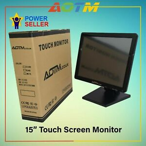 """ePOS 15"""" Touch Screen LCD Monitor for restaurant, retails and Hospitality, POS"""