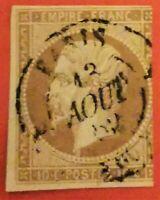 Timbre : EMPIRE NON DENTELE N° 13 I b - .(TB 890-1) OBLIT. CaD Paris