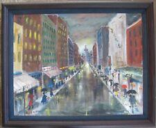 Large Oil by Arkansas Artist Dixie Durham-tiled Eager Shoppers