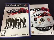 PS2 : reservoir dogs