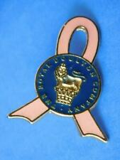 ROYAL DOULTON COMPANY PINK RIBBON VINTAGE PIN FIGURINE COLLECTOR BUTTON