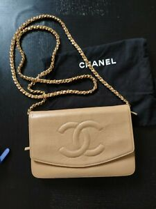 Authentic Chanel Timeless Wallet On Chain WOC