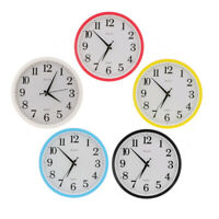 Modern Large 12 inches Wall Clock Quartz Digital Clock Office Home Decor 5 Color