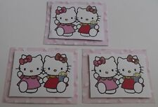 PK 3  HELLO KITTY BEST FRIENDS TOPPERS FOR CARDS