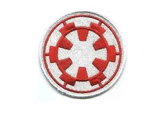 Star Wars logo Forces Imperiales Ecusson brodé Rouge star wars imperial forces