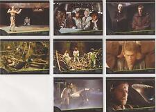 """Star Wars Galactic Files - """"I Have a Bad Feeling"""" Set of 8 Chase Cards #BF1-8"""
