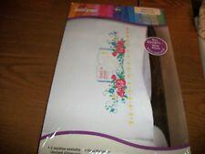 New listing Janlynn Stamped Cross Stitch Pillowcase Kit God Is Love Kit# 998-7173