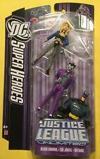 Black Canary JOKER Batman action figures DC UNIVERSE Justice League Mattel NEW