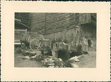 France, Saint-Véran, l'intérieur du Village, la Fontaine  Vintage silver pr