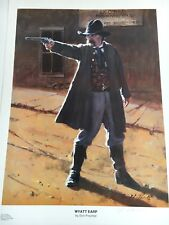 Don Prechtel, Wyatt Earp Open Edition Print Western Art