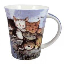 47593b54b5d Alex Clark Fine Bone China Tea Coffee Painted Cute Cat Kittens Mug