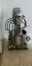 Used Hobart mixer A-200, 20 qt. Bowl beater paddle and hook