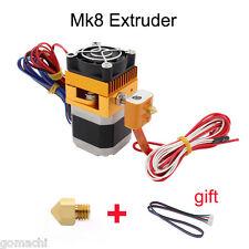 Mk8 Extruder Hotend 0 4mm Nozzle Print Head 1 75mm Filament 3d Printer New