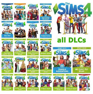 The Sims 4 + all expansion packs & all DLCs - Full Game for Mac&Windows