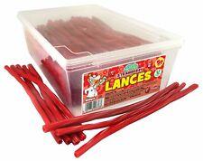 Strawberry Lances 200 Full Tub Box Favours Wedding Gifts Retro Sweets Christmas