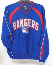 New York Rangers Men's L Playmaker V-Neck Pullover 030