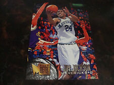 1995-96 Fleer Metal Basketball---Jim Jackson---Jumbo---#1/3---5x7---Mint---XHTF