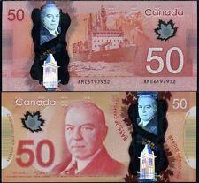 Canada 50 Dollars, 2012, P-109, Polymer, UNC
