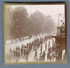 UK, London, British Colonial Army Parade  Vintage citrate print. Vintage England