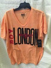 BOY London v nick sz xl  NEW Mens T-shirt  orang