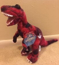 Plush NWT Jurassic World Red Velociraptor Dinosaur Toy Factory