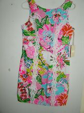 NWT LADIES LILLY PULITZER 20TH ANNIVERSARY TRAGET SHIFT DRESS SIZE 8