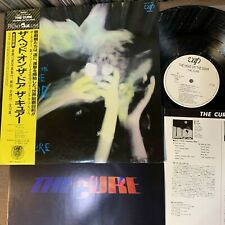 Promo THE CURE The Head On The Door JAPAN LP 35151-27 w/ OBI+BOOKLET White label