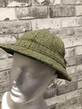Herringbone Country Tweed Lawrence Foster Hat Walking Men Hunting shooting wool