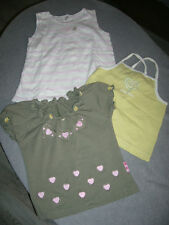 3 T SHIRTS   fille  TEX  taille  3 ANS