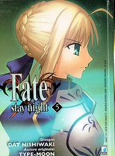 Fate stay night n. 5 ed.Star Comics NUOVO*Type-Moon