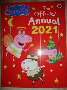 Peppa Pig 2021 Annual The Official Peppa Pig Annual Brand New RRP £7.99
