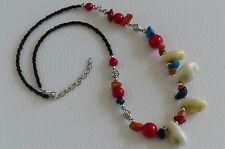 Collier Femme Indien Fantaisie Perles et Coquillages - Bijoux des Lys