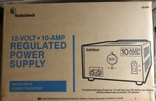 Radio Shack 10A 13.8V Regulated Linear Power Supply Cat. No. 22-506 Tested VGUC