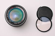 MC Auto Zoom 35-70mm f/3.5-4.5 Lens Caps & Filter for Pentax K (#2112)