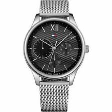Brand New Tommy Hilfiger Men's Watch 1791415 Chronograph Silver - UK SELLER
