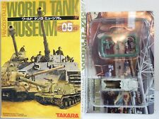 Takara 1:144 World Tank Museum; German HALFTRACK (Winter Scheme) with figures