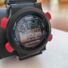 Casio G-Shock DW-8600 1518 Fisherman JAPAN Titanium Back Thermometer illuminator